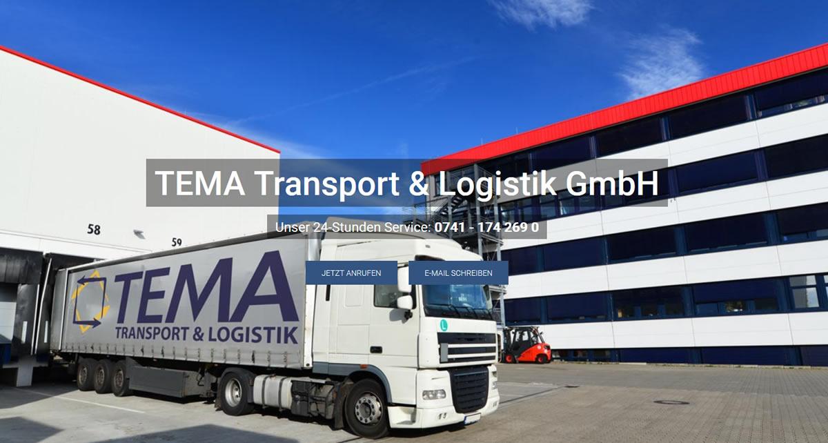 Transporte Brigachtal: TEMA Transport & Logistik Transport & Kurierdienst & Logistik -Logistikunternehmen