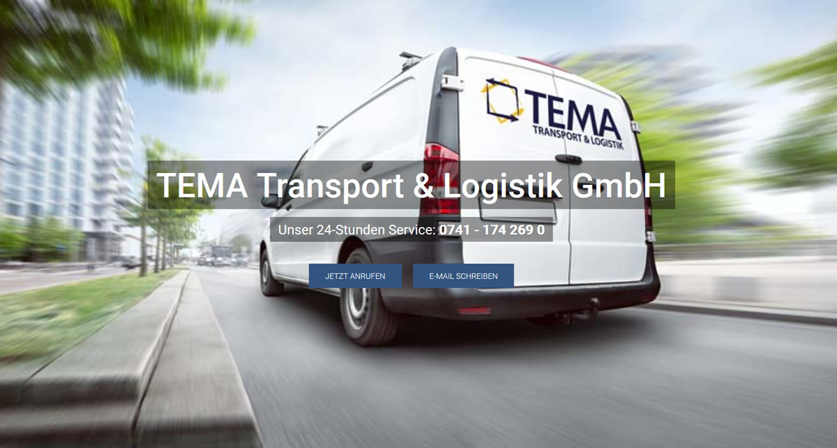 Transporte Winterlingen: TEMA Transport & Logistik Transport & Kurierdienst & Logistik -Transportlogistik