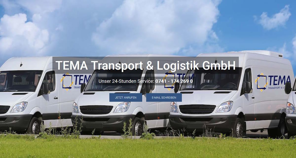 Transporte Trossingen: TEMA Transport & Logistik Transport & Kurierdienst & Logistik -Versand