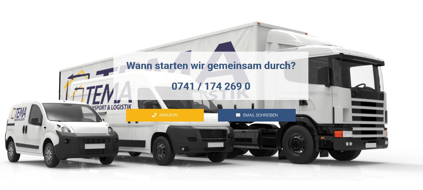 Kurier oder Transportservice gesucht? Nutzen Sie unser Kontaktformular.